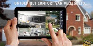 Camerasysteem via tablet bekijken